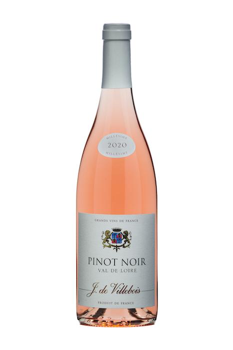 Pinot Noir Rosé 2020 J. de Villebois Loire