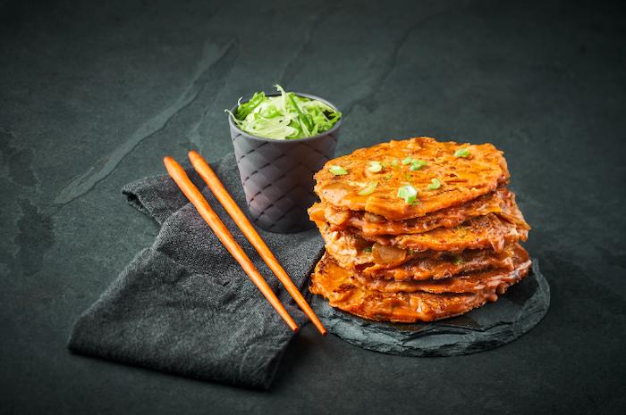 recette de Kimchi Jeon