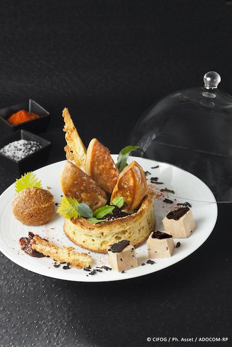 recette de Couronne de foie gras poêlé