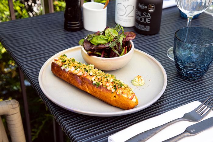 Lobster Roll Hampton's Grill