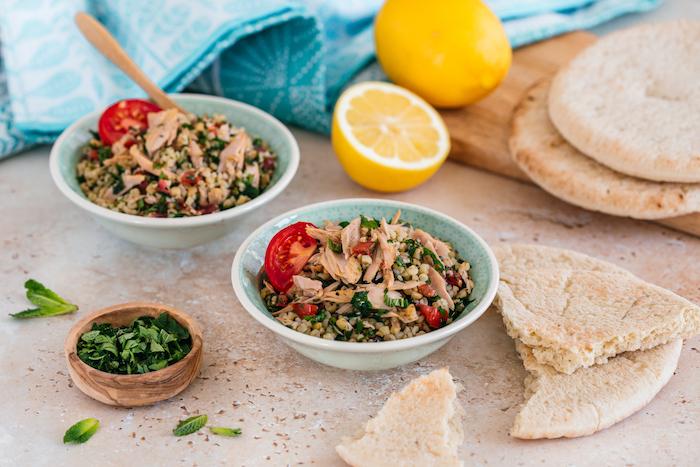 recette de Taboulé à la libanaise aux filets de thon