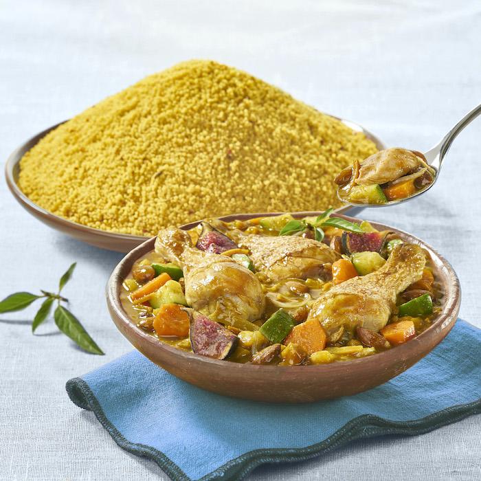 recette de Tajine de poulet au four