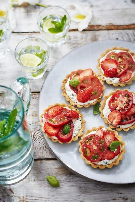 40 recettes à la tomate