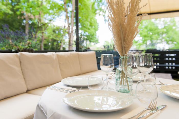 restaurant terrasse parc de Saint Cloud