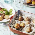 Pommes de terre en croûte de sel