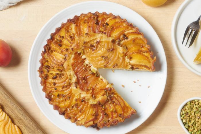 Tarte sans gluten aux abricots