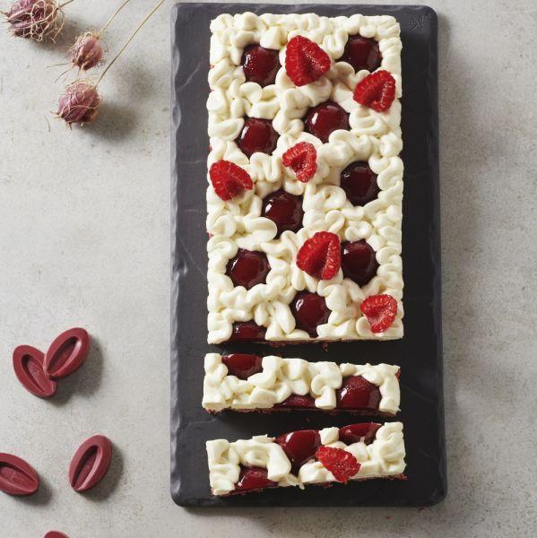 recette de Tarte fine framboise vanille