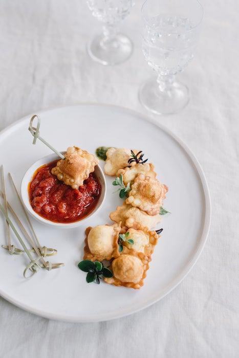 recette de Pâtes farcies soufflées à la tomate