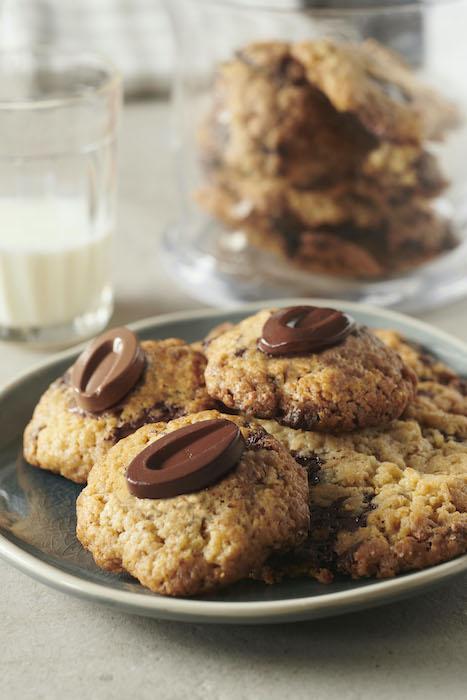 recette de Cookies au chocolat au lait