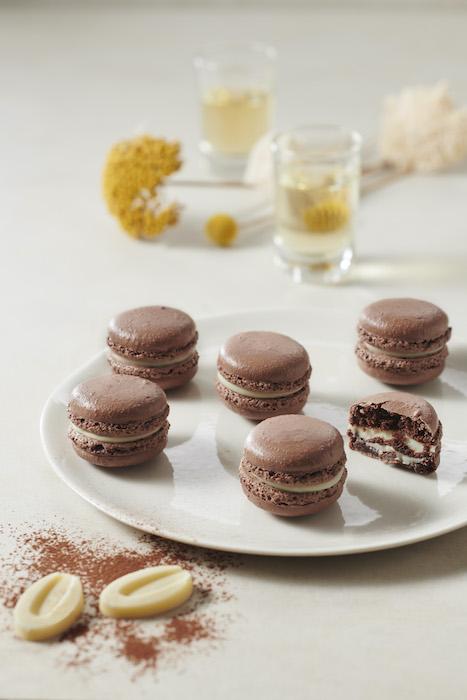 recette de Macarons yuzu