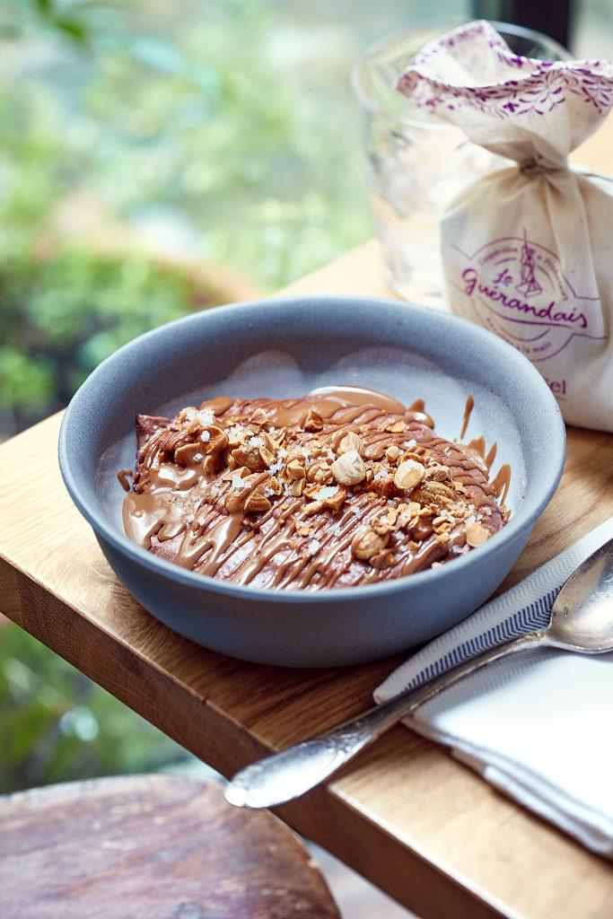 recette de Mousse au chocolat au praliné