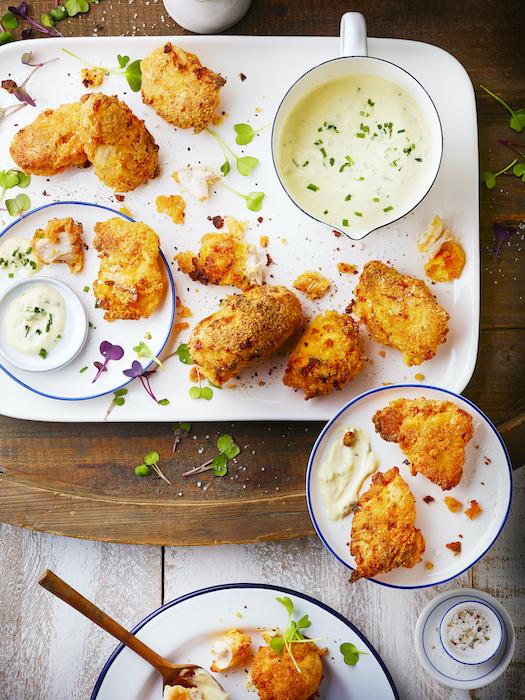 recette de Nuggets de poulet cuits au four