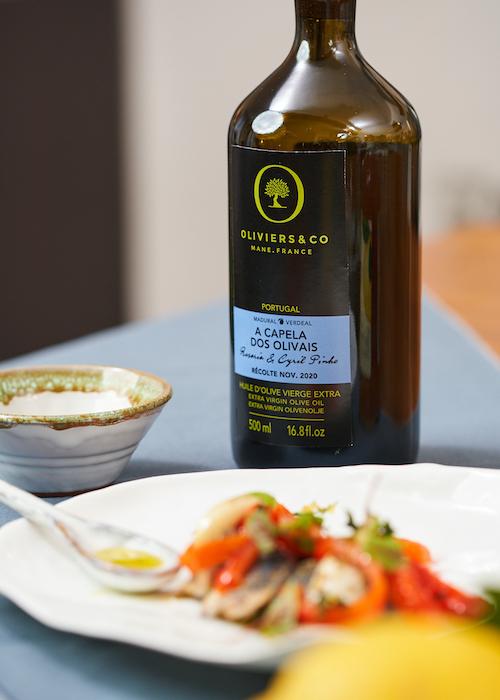 recette de Sardines et poivrons marinés à l'huile