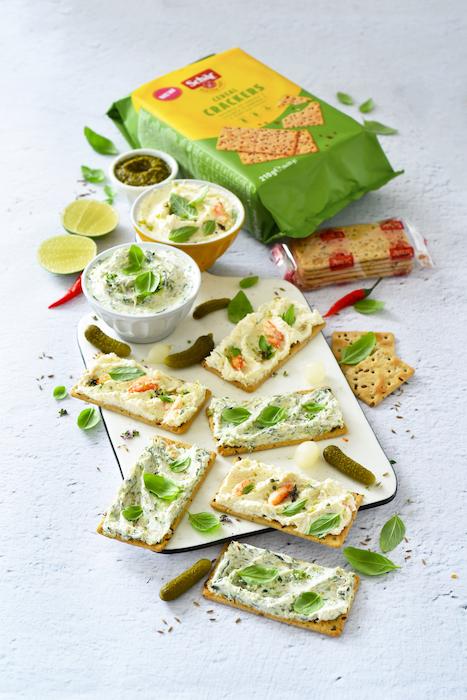 recette de Tartinades aux courgettes et au crabe