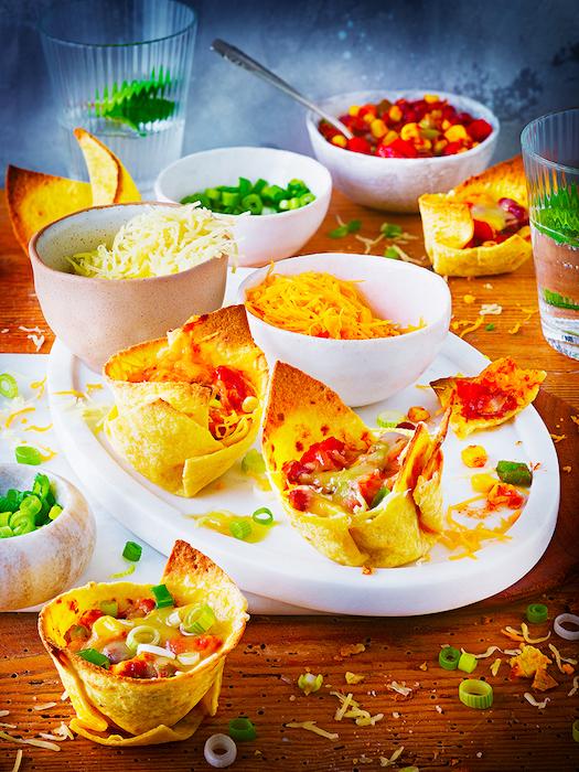 recette de Mini enchiladas gratinées aux fromages