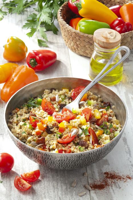 recette de Taboulé de quinoa parfumé à l'orientale