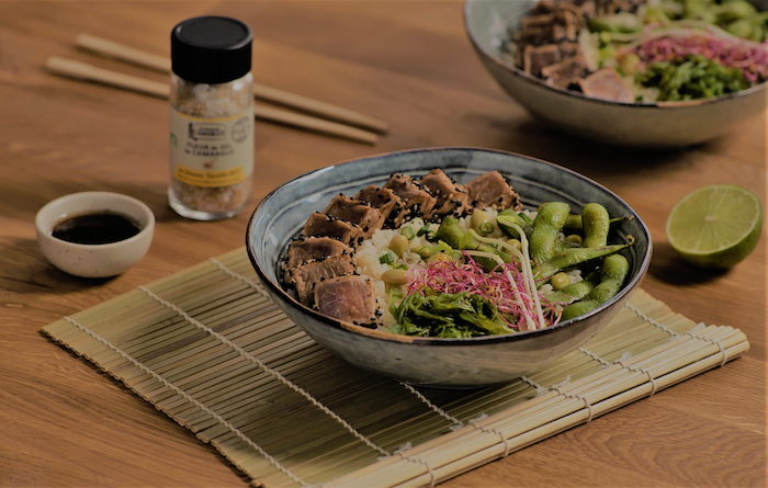 recette de Bol de tataki de thon
