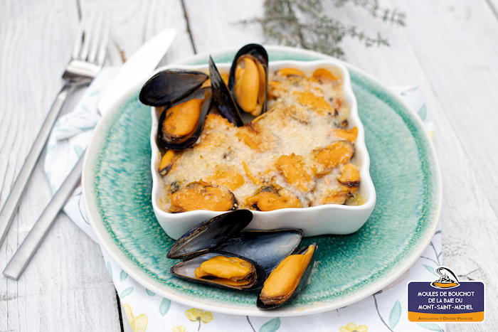 recette de Cassolettes de moules de bouchot aux poireaux
