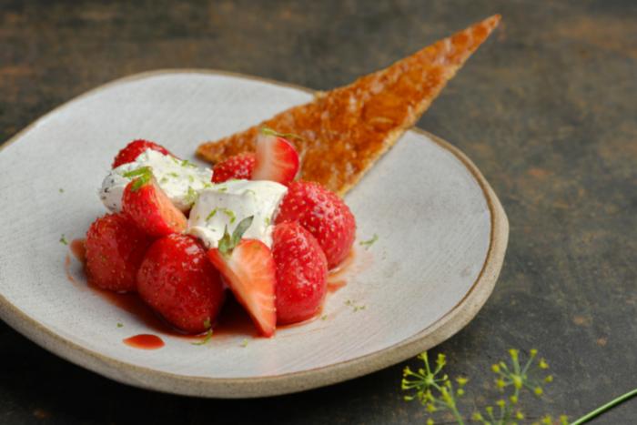 Jubilé de fraises et Arlette croustillante