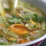 Soupe thaï de moules à la citronnelle