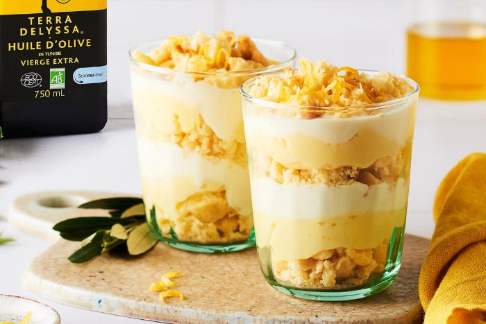 Trifle au citron et citron yuzu, le délice inratable