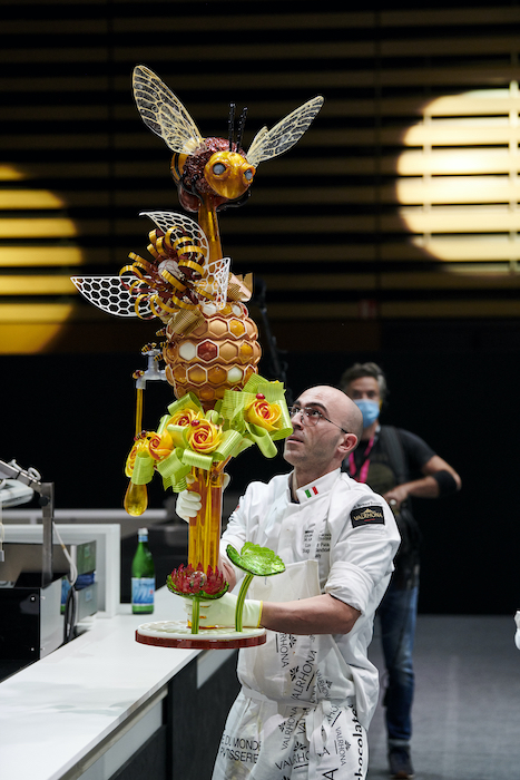 Sculpture de sucre Italie