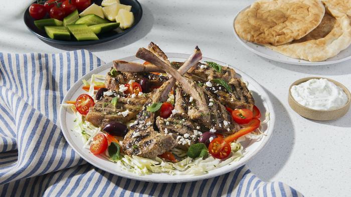 recette de La marinade grecque