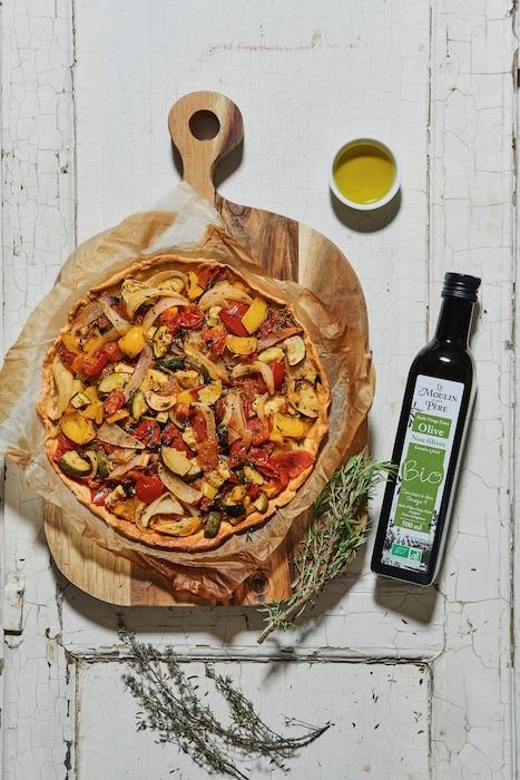 recette de Tarte à la provençale