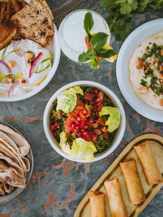mezzés libanais