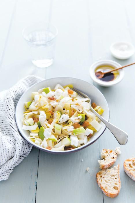 recetet de Salade d'endives aux pommes granny