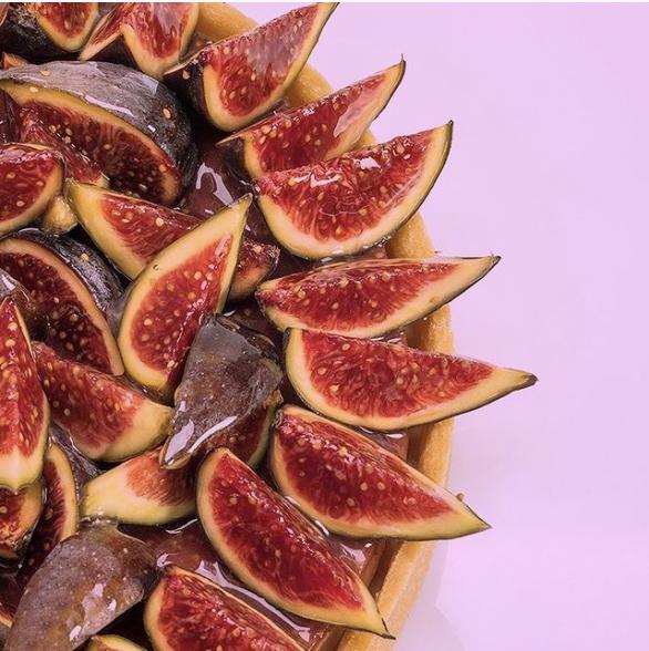 le recette de la La tarte aux figues de Claire Heitzler