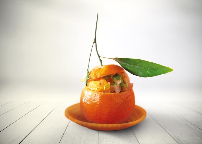 recette de Ceviche de poisson aux clémentines de Corse