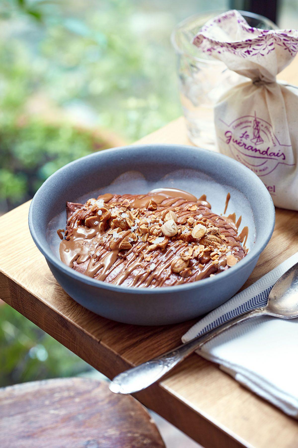 mousse au chocolat Amandine Chaignot