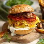 Burger au chorizo et pommes de terre