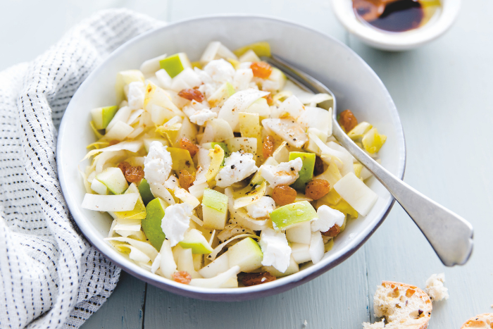 Salade d'endives aux pommes granny