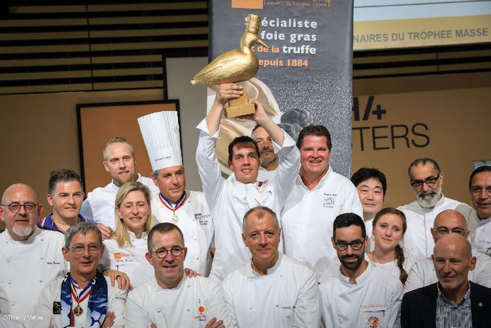 Elie Trumeau lauréat Trophée Masse 2021