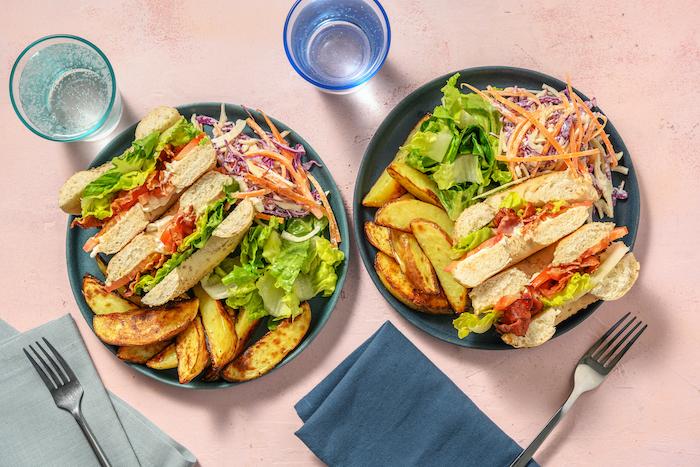 recette de Sandwichs BLT