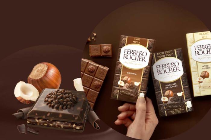 Les tablettes Ferrero Rocher, la gourmandise dont vous ne pourrez plus vous passer